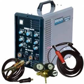 EAD16001 - INVERTER ERGUS TIG 160 DCI ACDC CON ANTORCHA Y CON.MASA