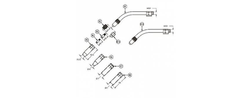 MIG GT 240W DESPIECE - 41GT240WD