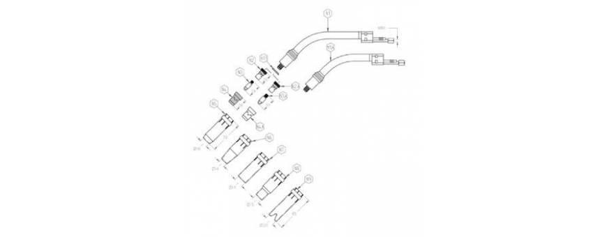 MIG FC 401 / 501 W DESPIECE - 41FC501WD