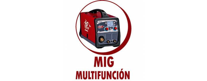 SOLDADURA MULTIFUNCION MIG/MAG  TIG MMA