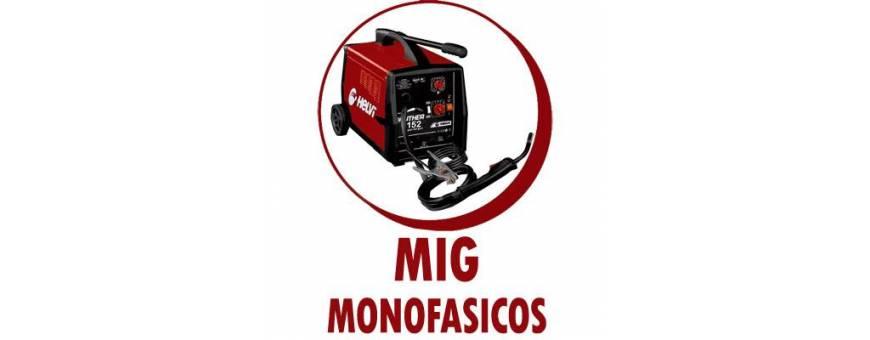 MAQUINARIA  PARA SOLDADURA MIG MONOFASICOS