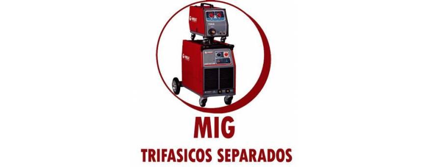 SOLDADURA MIG/MAG TRIFASICOS SEPARADOS